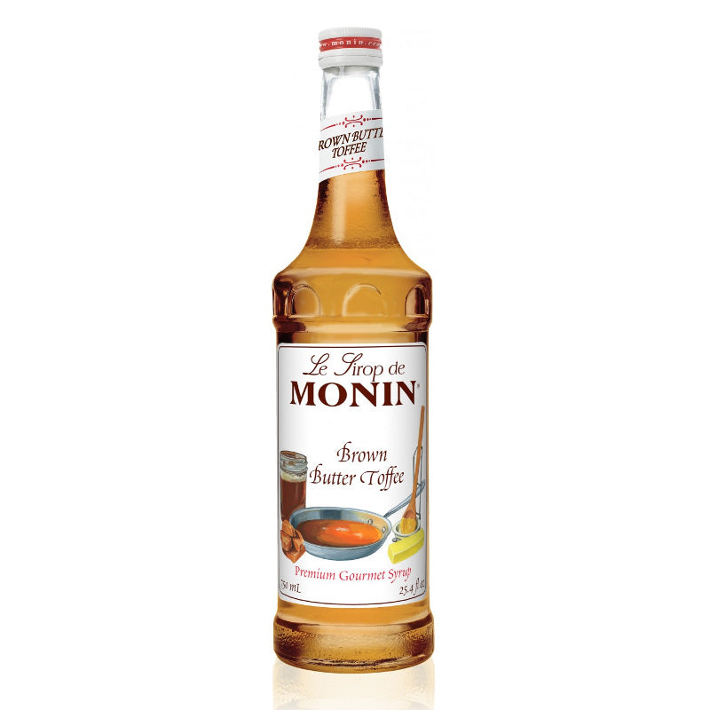 Monin Brown Butter Toffee Syrup 750 mL