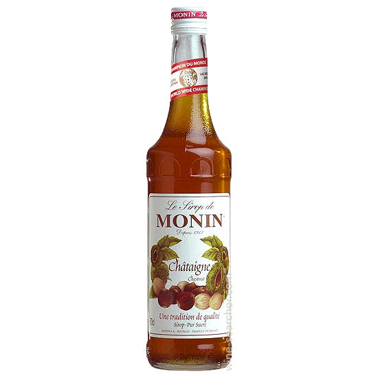 Monin Chestnut Syrup 750 mL