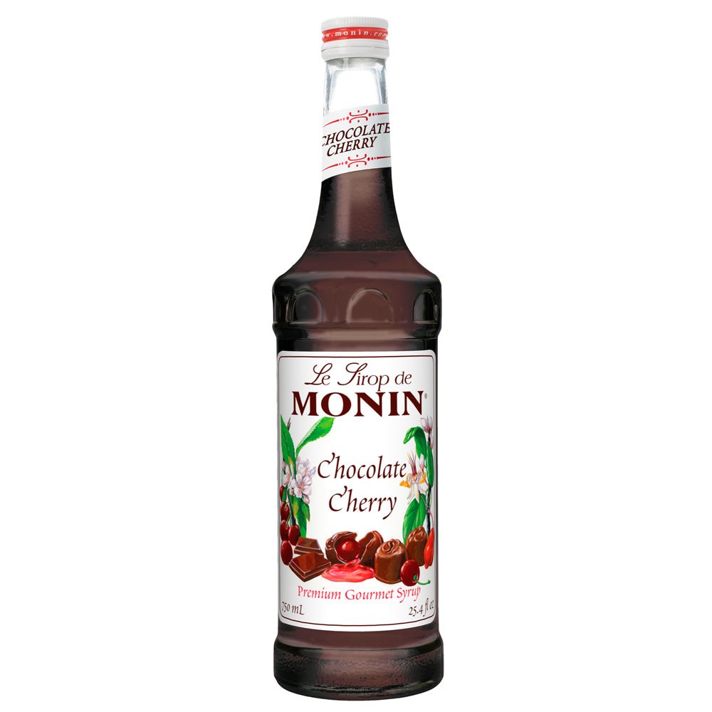 Monin Chocolate Cherry Syrup 750 mL