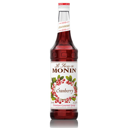 Monin Cranberry Syrup 750 mL