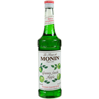 Monin Granny Smith Apple Syrup 750 mL