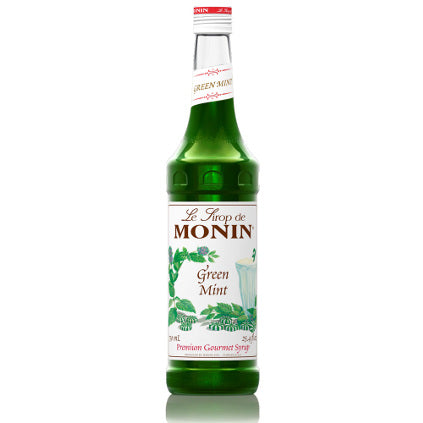 Monin Green Mint Syrup 750 mL