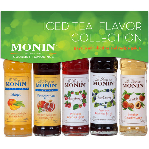 Monin Iced Tea Collection Sample Bottles