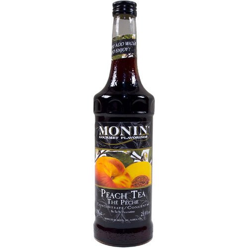 Monin Ice Tea Peach Concentrate 750 mL