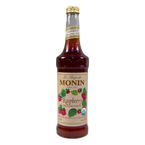 Monin Organic Raspberry Syrup 750 mL