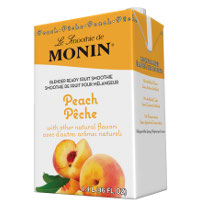 Monin Peach Smoothie Mix 46 oz