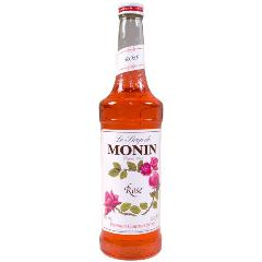 Monin Rose Syrup 750 mL