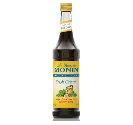 Monin Sugar Free Irish Cream Syrup 750 mL