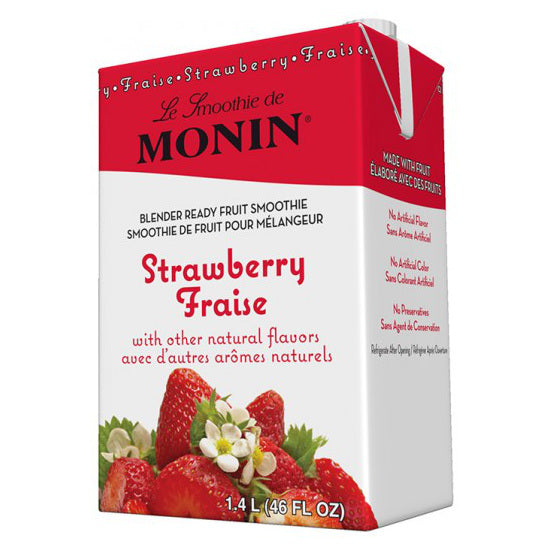 Monin Strawberry Smoothie Mix 46 oz