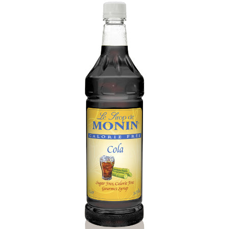 Monin Sugar Free Cola Syrup 1000 mL