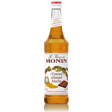 Monin Toasted Almond Mocha Syrup 750 mL