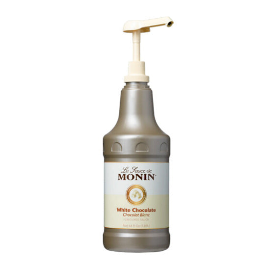 Monin White Chocolate Sauce 64 oz