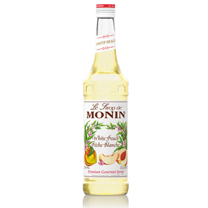 Monin White Peach Syrup 750 mL