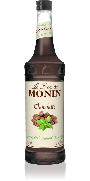 Monin Zero Calorie Chocolate Syrup 750 mL