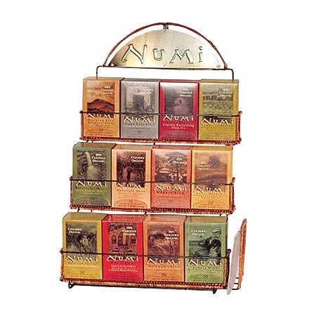 Numi Tea 12 Box Display Rack