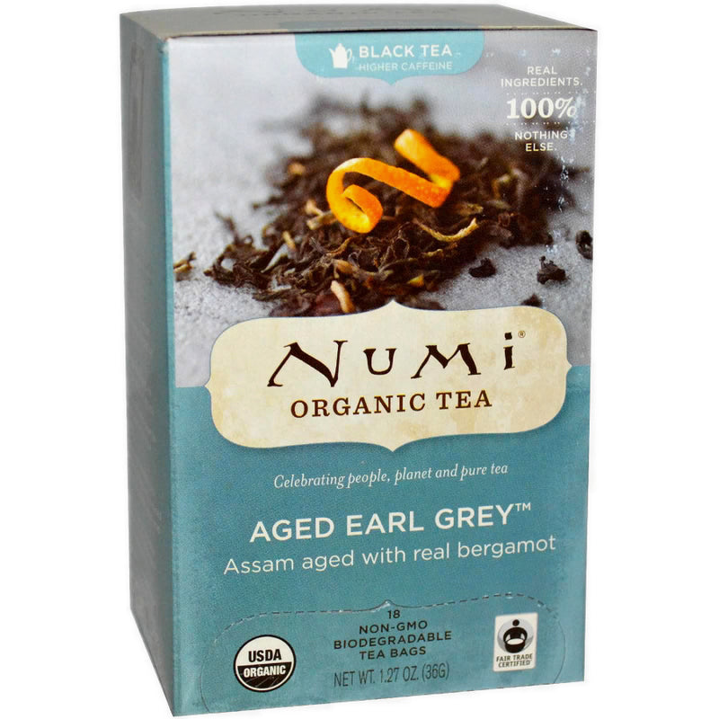 Numi Aged Earl Grey Tea 18ct