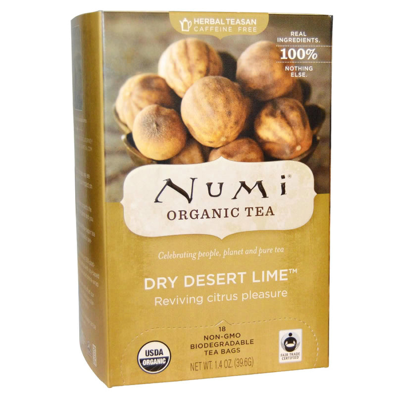 Numi Dry Desert Lime Tea 18ct