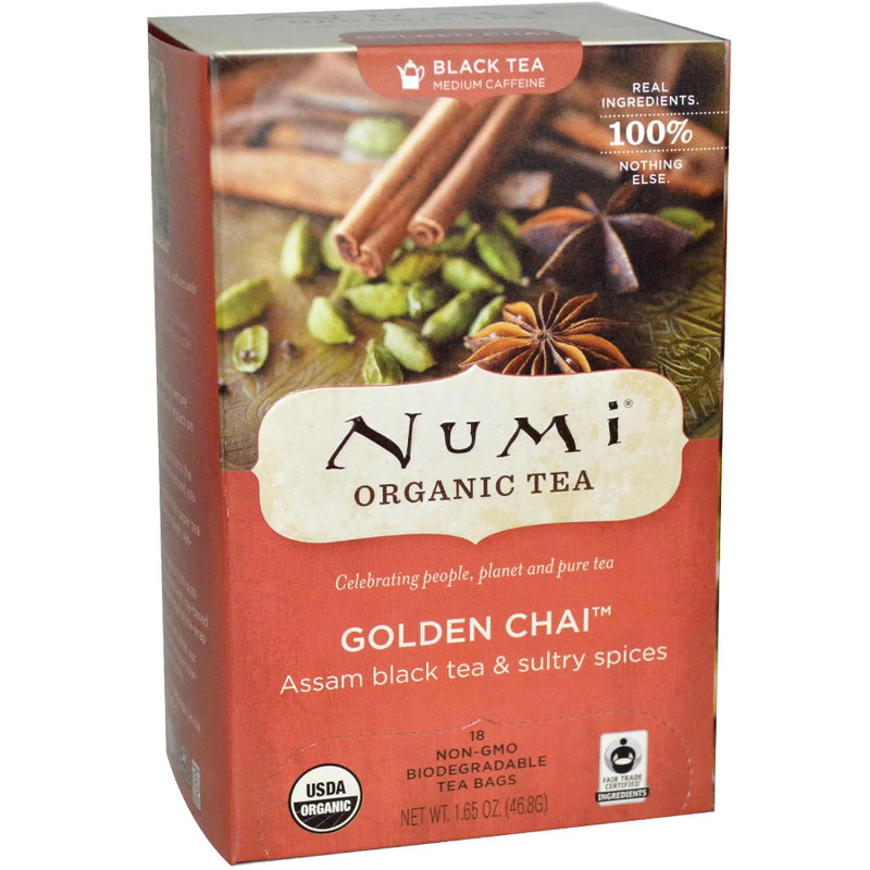 Numi Golden Chai Tea 18ct