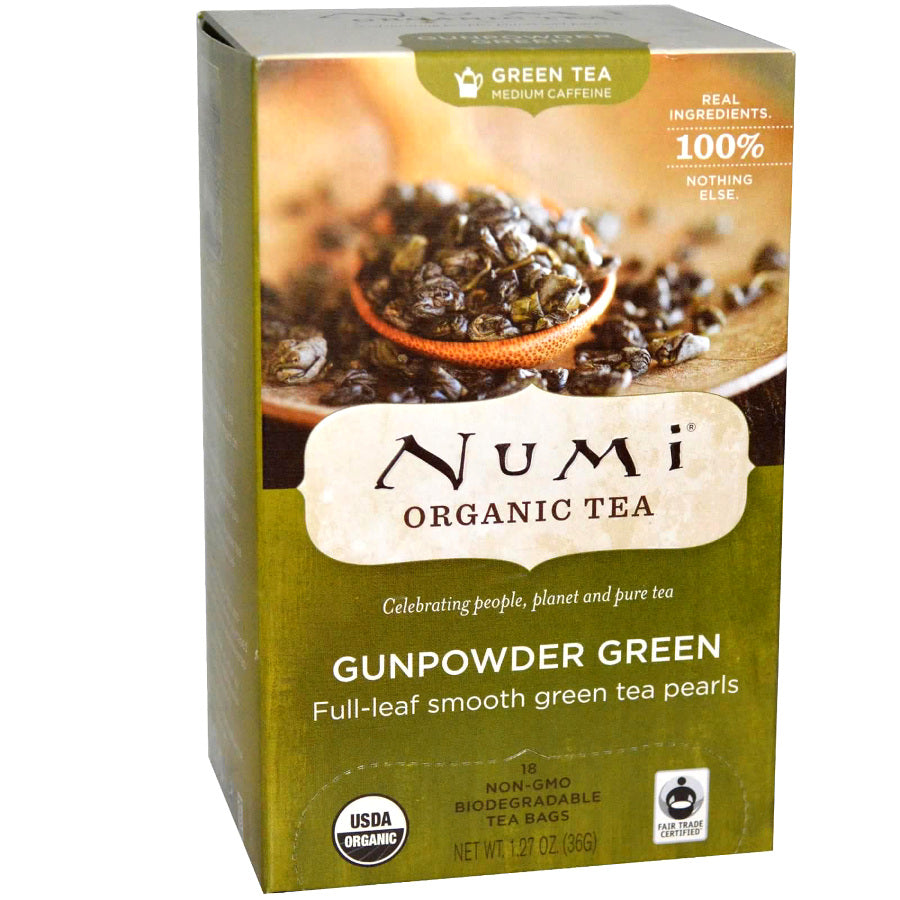 Numi Gunpowder Green Tea 18ct