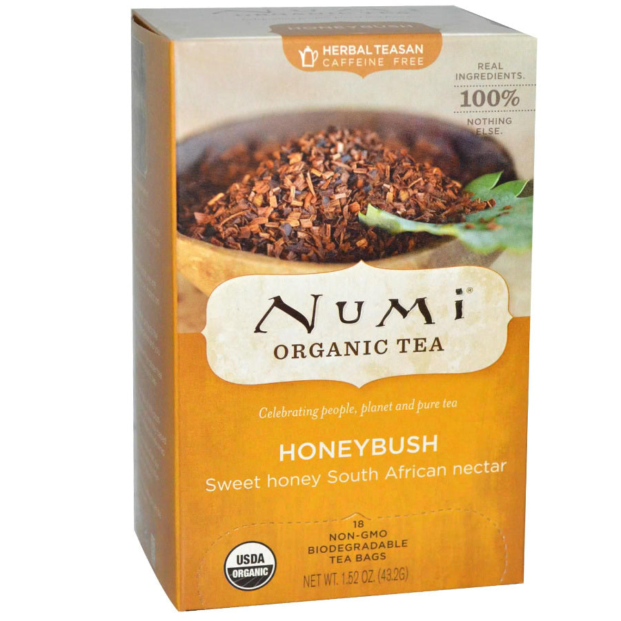 Numi Honeybush Tea 18ct