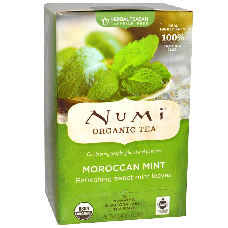 Numi Moroccan Mint Tea 18ct