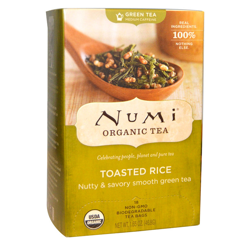 Numi Toasted Rice Tea 18ct
