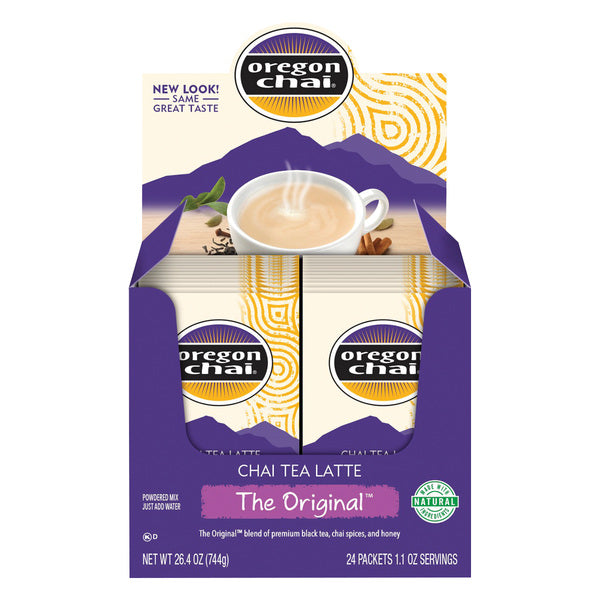 Oregon Chai Tea Dry Mix 24 Packets