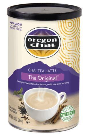 Oregon Chai Tea 10 oz Canister