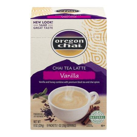 Oregon Chai Tea Vanilla 8 Packets