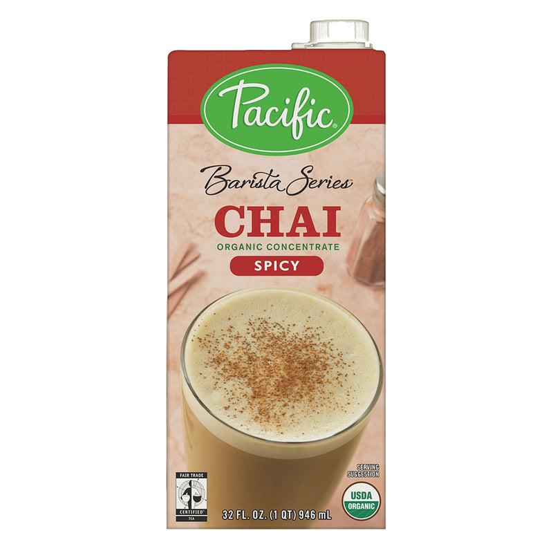 Pacific Barista Spicy Organic Chai Concentrate 32 oz
