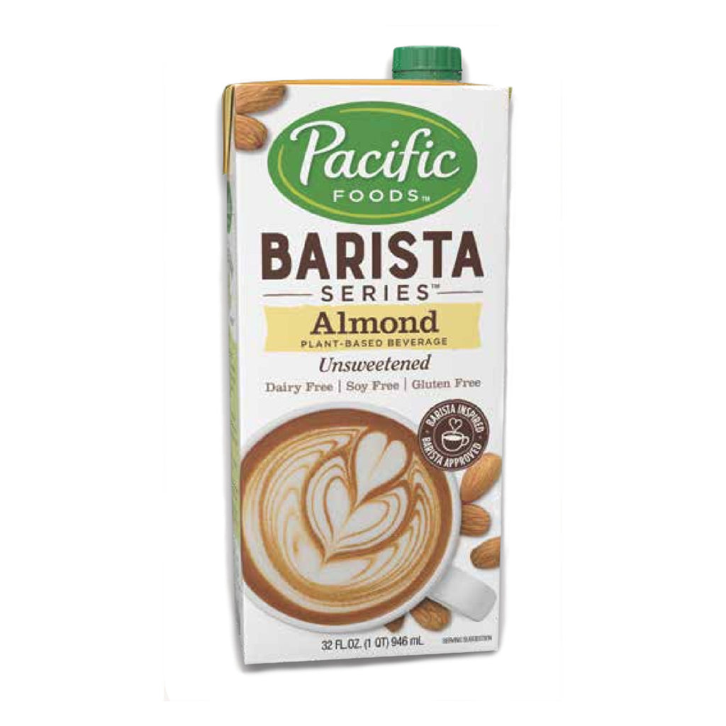 Pacific Barista UNSWEETENED Almond Milk 32 oz