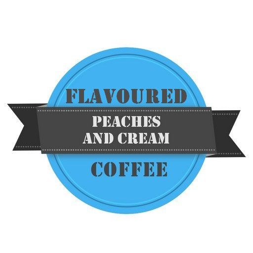 Peaches and Cream Flavoured Coffee
