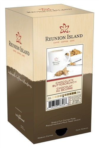 Reunion Island Chocolate Buttercrunch Pods 18ct