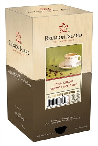 Reunion Island Irish Cream Pods 18ct
