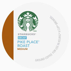 Starbucks Pike Place Decaf 96 Ct