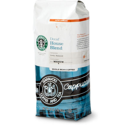 Starbucks Decaf House Blend 1lb