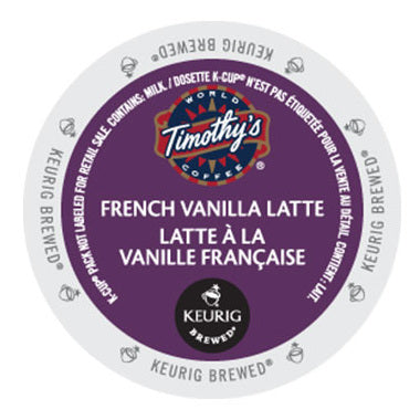 Timothys French Vanilla Latte 96 ct