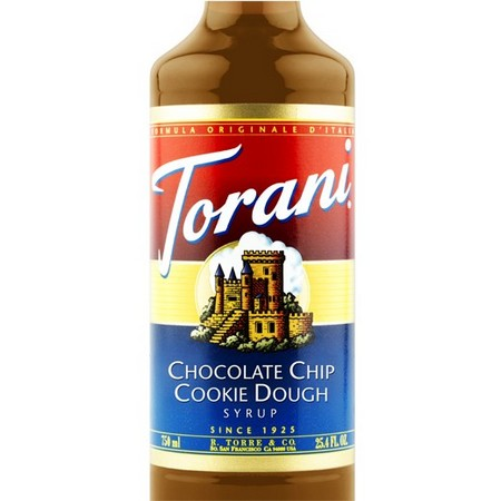 Torani Chocolate Chip Cookie Dough Syrup 750 mL