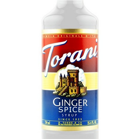 Torani Ginger Spice Syrup 750 mL