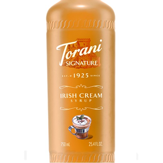Irish Cream Signature Syrup 750 mL
