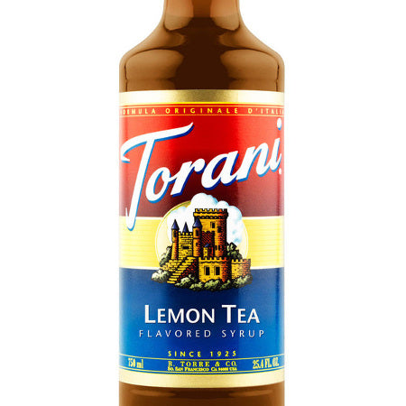 Torani Lemon Tea Syrup 750 mL