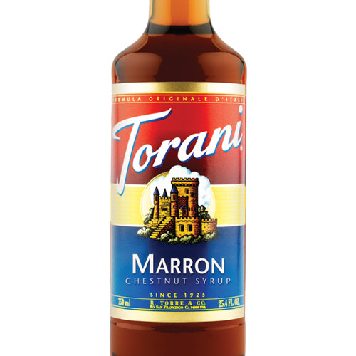 Torani Marron Chestnut Syrup 750 mL