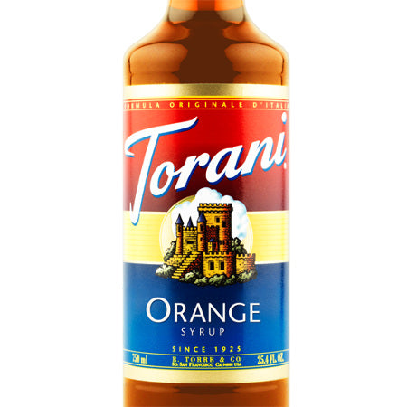 Torani Orange Syrup 750 mL