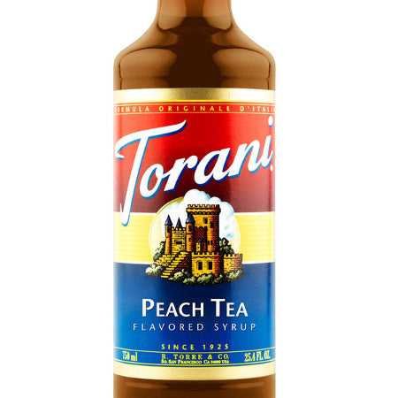 Torani Peach Tea Syrup 750 mL