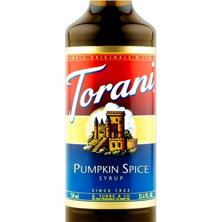 Torani Red Raspberry Syrup 750 mL