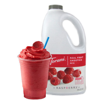 Torani Raspberry Real Fruit Smoothie Mix 64 oz