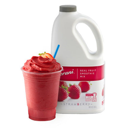 Torani Strawberry Real Fruit Smoothie Mix 64 oz
