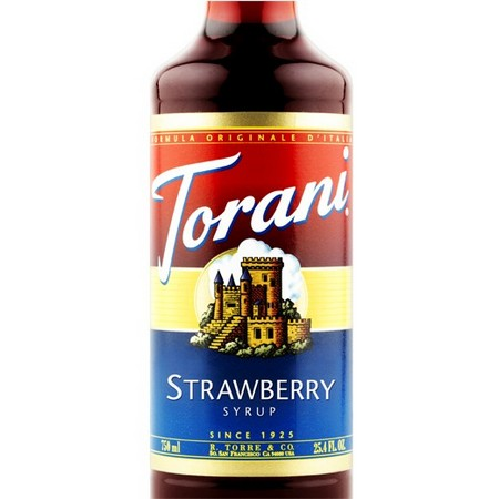 Torani Strawberry Syrup 750 mL