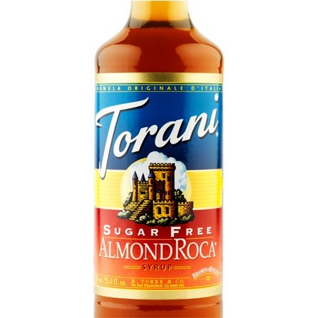 Torani Sugar Free Almond Roca Syrup 750 mL