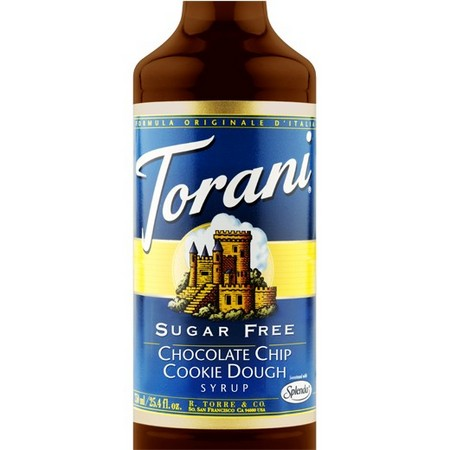 Torani Sugar Free Chocolate Chip Cookie Dough Syrup 750 mL
